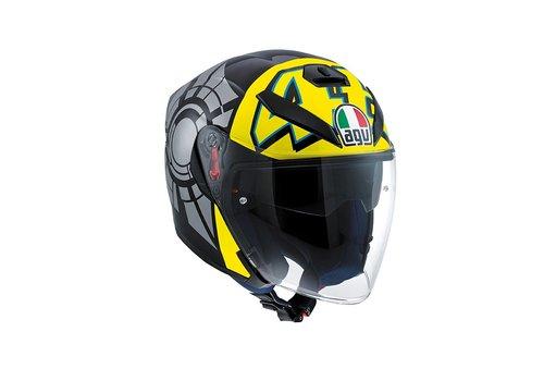 AGV Online Shop K5 Jet Wintertest 2011 casco - Valentino Rossi