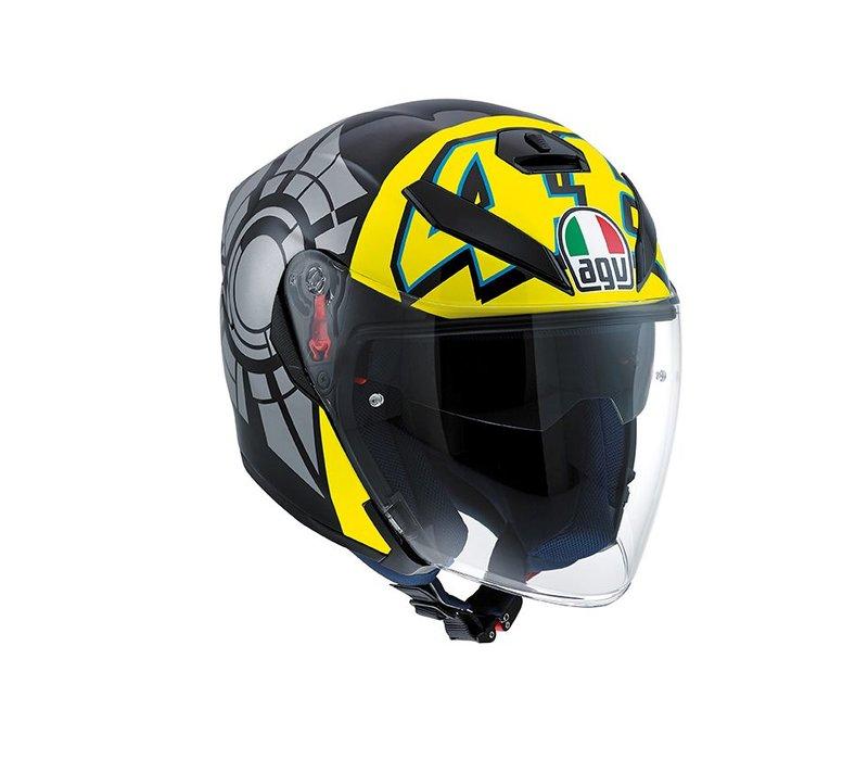 K5 Jet Wintertest 2011 Helm - Valentino Rossi
