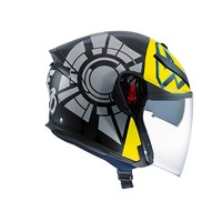 K5 Jet Wintertest 2011 casco - Valentino Rossi