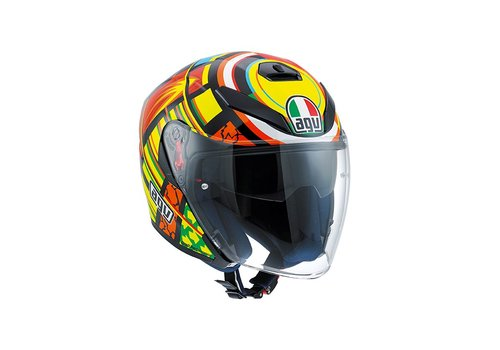 AGV K5 Jet Elements Helm - Valentino Rossi