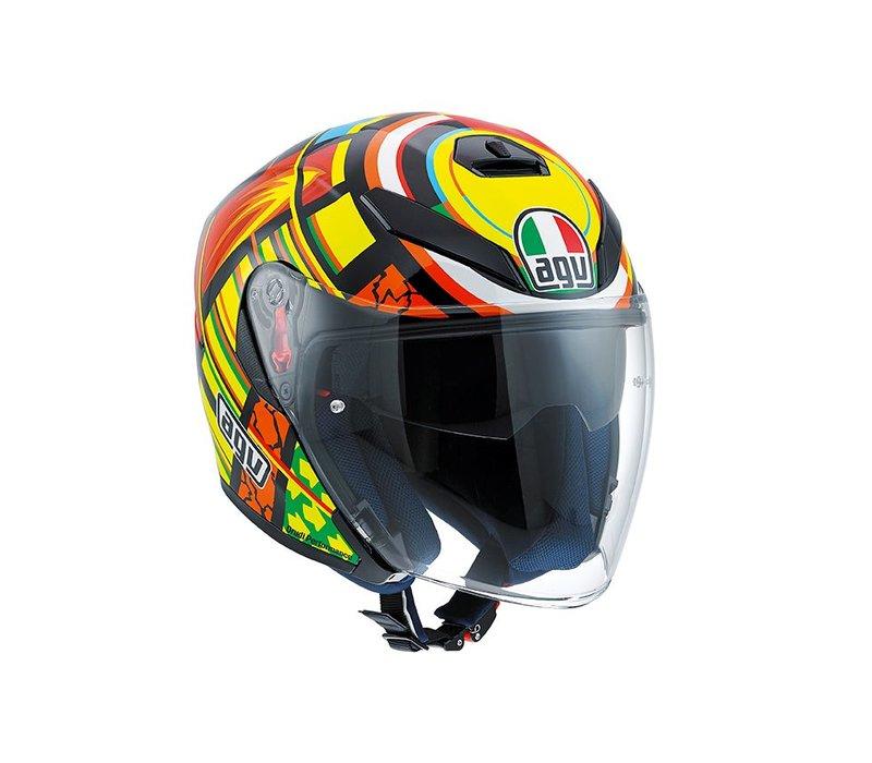 K5 Jet Elements casque - Valentino Rossi
