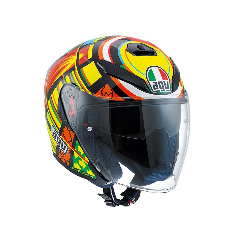 agv k5 jet elements helm valentino rossi champion helmets. Black Bedroom Furniture Sets. Home Design Ideas
