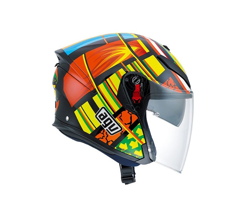 K5 Jet Elements capacete - Valentino Rossi