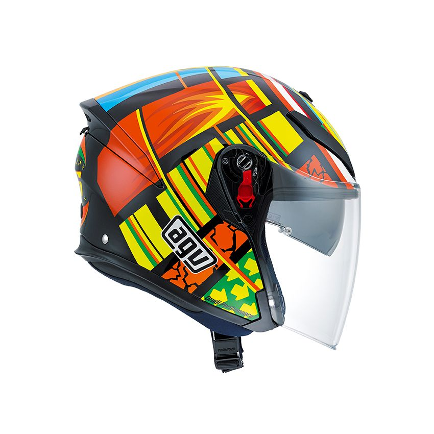 Casque Agv K5 Jet Elements Valentino Rossi Champion Helmets