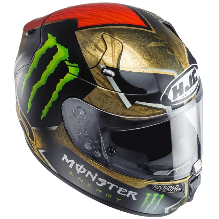 casque hjc rpha 10 sparteon lorenzo champion helmets l 39 equipment moto. Black Bedroom Furniture Sets. Home Design Ideas
