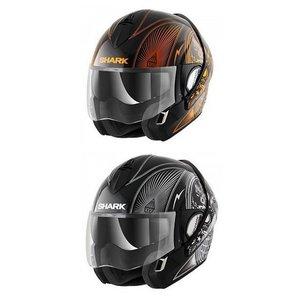 SHARK Evoline 3 Mezcal Chrome шлем