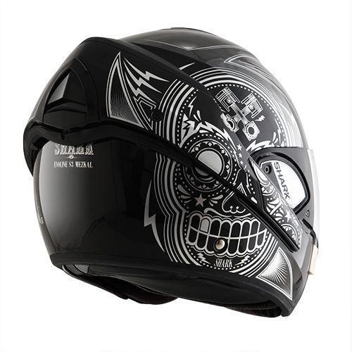 casque shark evoline 3 mezcal chrome champion helmets l 39 equipment moto. Black Bedroom Furniture Sets. Home Design Ideas