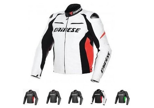 Dainese Online Shop Racing Pelle D1 chiacca