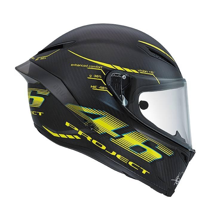 Valentino Rossi AGV Pista GP Project 46 Version 2.0 helmet