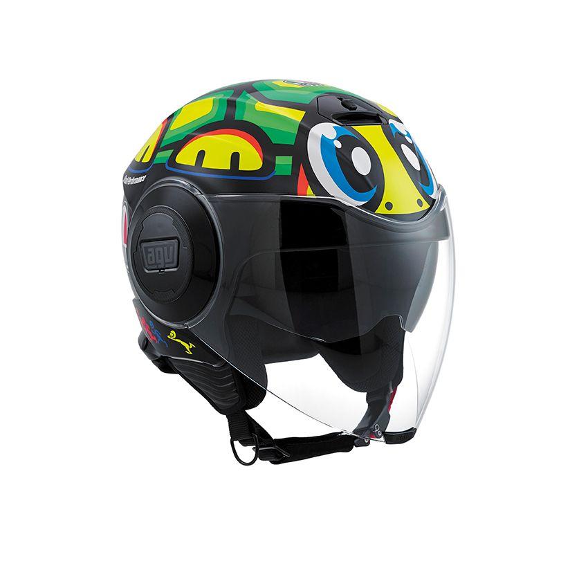 agv fluid tartaruga helmet champion helmets motorcycle. Black Bedroom Furniture Sets. Home Design Ideas