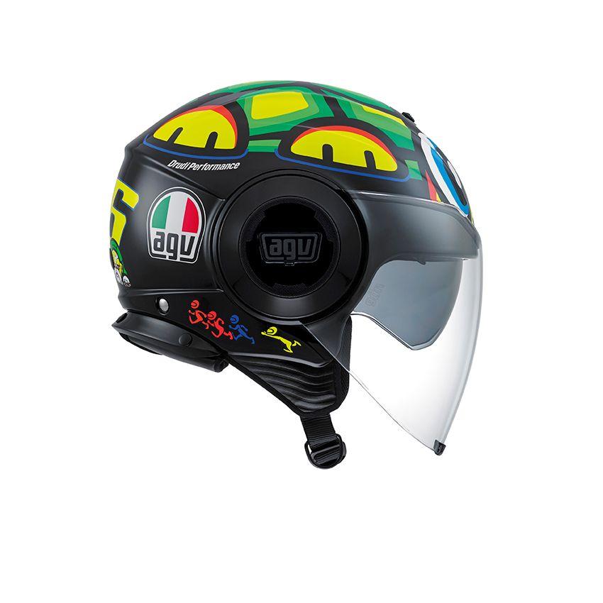 casque agv fluid tartaruga champion helmets l 39 equipment moto. Black Bedroom Furniture Sets. Home Design Ideas