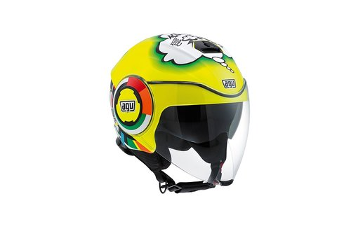 AGV Online Shop Fluid Misano 2011 Helm - Valentino Rossi