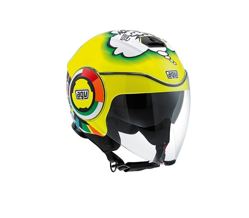 Fluid Misano 2011 Helm - Valentino Rossi