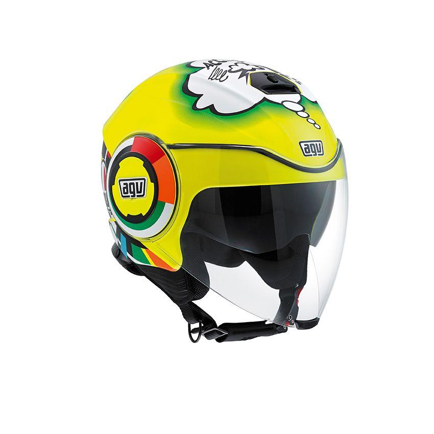 casque agv fluid misano 2011 champion helmets l 39 equipment moto. Black Bedroom Furniture Sets. Home Design Ideas