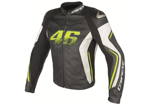 Dainese VR46 D2 Leather Jacket Valentino Rossi