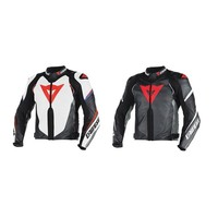 Super Speed D1 Perforated Leather Jacket