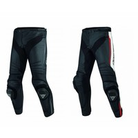 Dainese Buy Dainese Racing 3 Leather Jacket Black Fluo Red? Free Shipping!