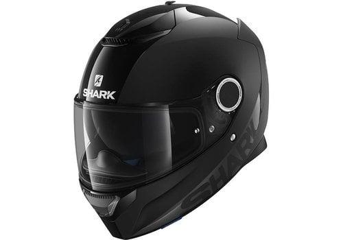 SHARK Spartan Dual Black Helm