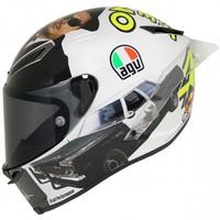 AGv Pista GP R Misano 2016 Rossi Helm + Kostenloser Visier