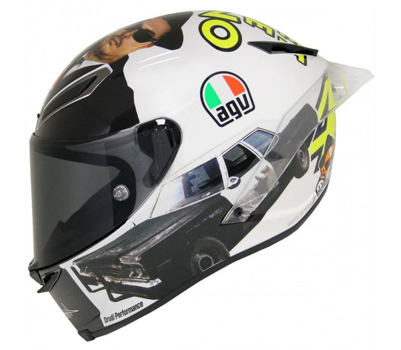 Pista GP R Misano 2016 Rossi Hjälm - Blues Brother