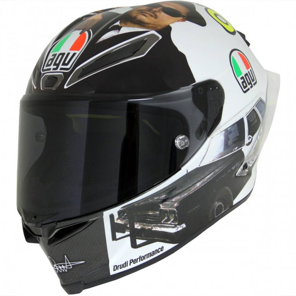 agv pista gp r misano 2016 rossi helmet blues brother. Black Bedroom Furniture Sets. Home Design Ideas