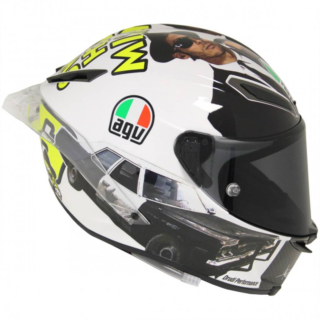 AGV Pista GP R Misano 2016 Rossi Helmet + Free Extra Visor