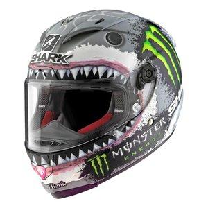 SHARK Race-R Pro Lorenzo White Shark Helm - Limited Edition