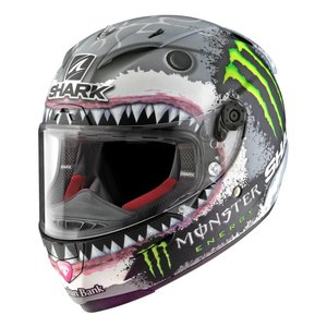 SHARK Race-R Pro Lorenzo White Shark Helmet - Limited Edition