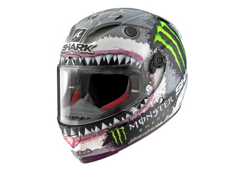 Shark Race-R Pro Lorenzo White Shark Casque - Limited Edition