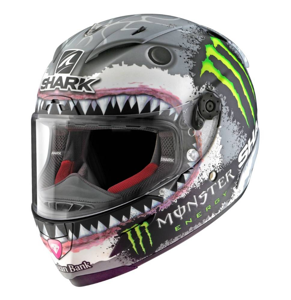 shark race r pro lorenzo white shark helmet champion helmets. Black Bedroom Furniture Sets. Home Design Ideas
