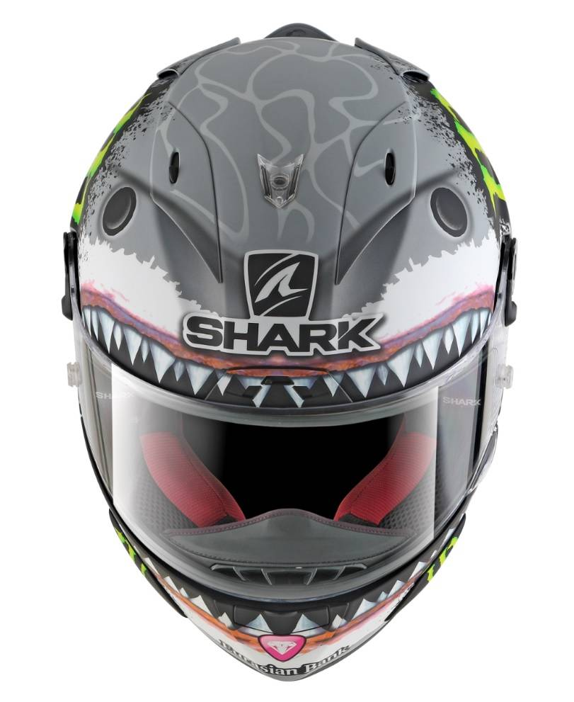 shark race r pro lorenzo white shark helmet champion helmets. Black Bedroom Furniture Sets. Home Design Ideas