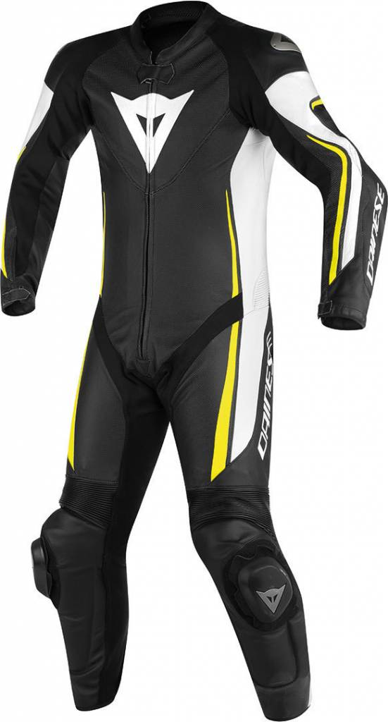 Dainese Assen Perforated One Piece Racing Suit Champion