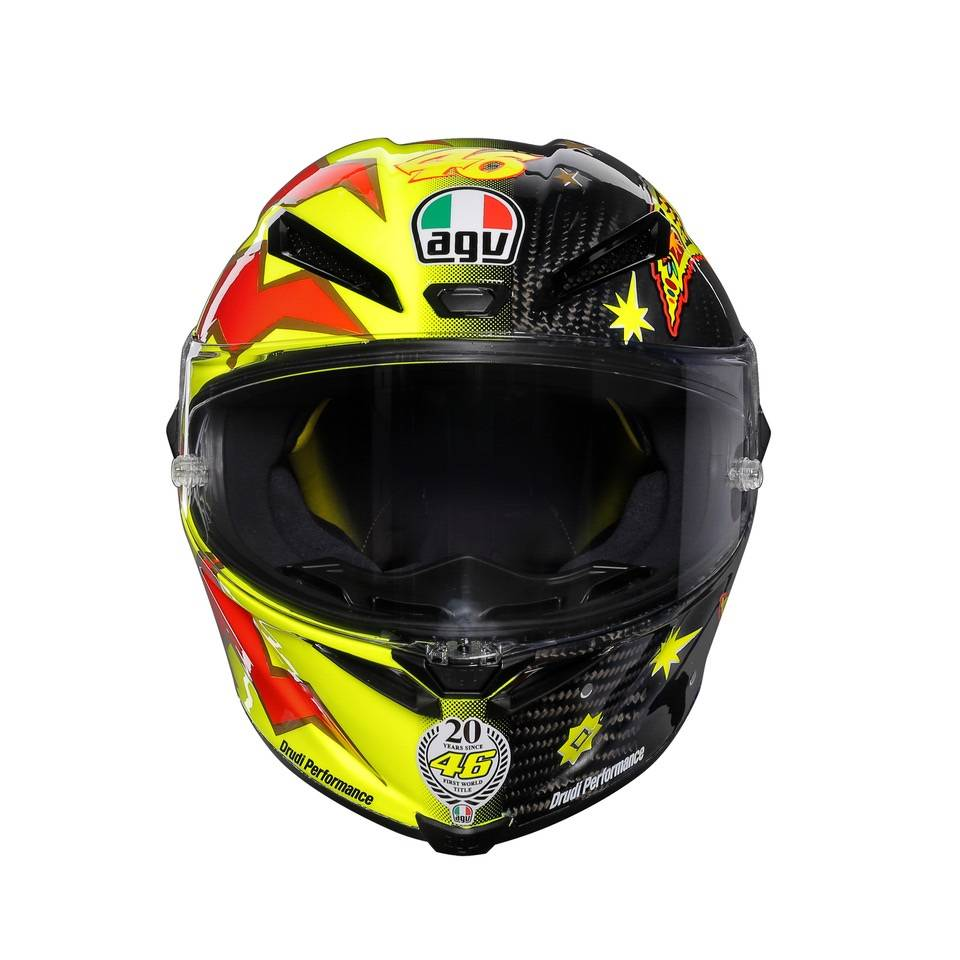 Agv Pista Gp R Rossi 20 Years Helmet Limited Edition