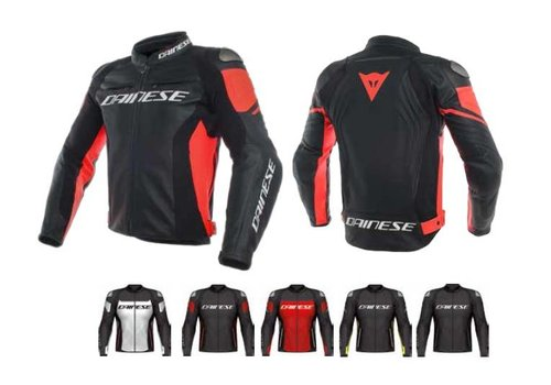 Dainese Online Shop Racing 3 Perforated Leather Jacket