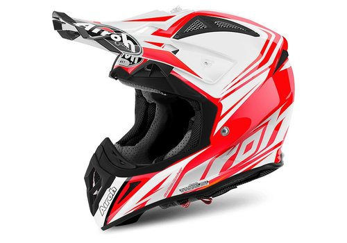 AIROH Aviator 2.2 Ready Red Gloss Capacete