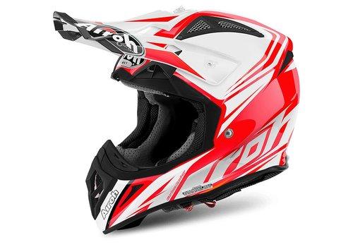 Airoh Online Shop Aviator 2.2 Ready Red Gloss Helmet