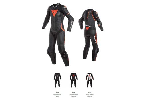 Dainese Laguna Seca 4 Perforated LADY 1-P Tuta Pelle