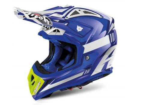 Airoh Aviator 2.2 Cairoli Ottobiano Blue Gloss шлем