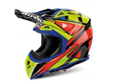 Airoh Online Shop Aviator 2.2 Double Black Gloss Helmet