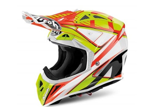 Airoh Aviator 2.2 Double Orange Gloss Helm