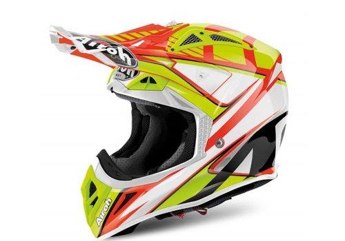 Airoh Online Shop Aviator 2.2 Double Orange Gloss Helmet