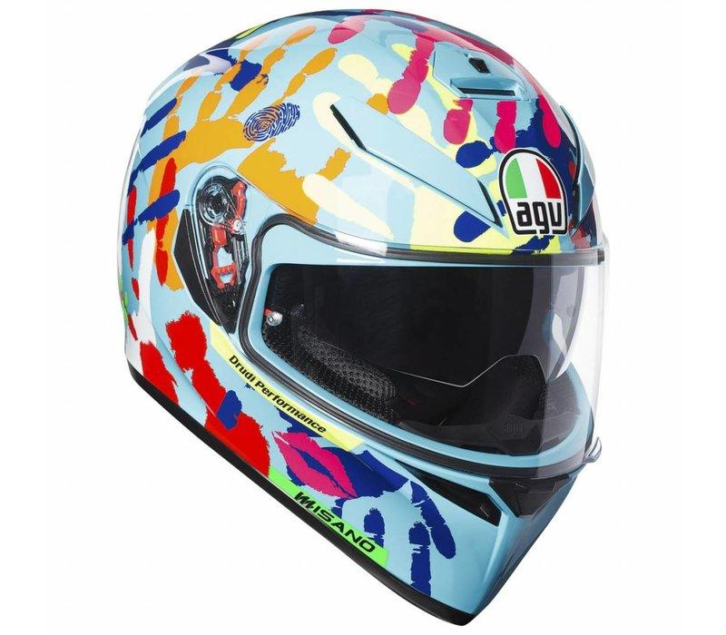 AGV K3 SV Misano 2014 Helm + 50% Rabatt auf einem zusätzliches Visier!