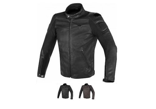 Dainese Street Darker Leather Chaqueta