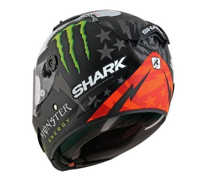 Shark Race-R Pro Lorenzo Monster 2017 Helmet + Free Additional Visor!