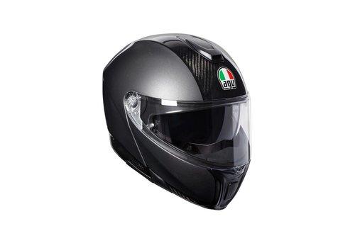 AGV Sportmodular Carbon Dark-Grey Hjälm