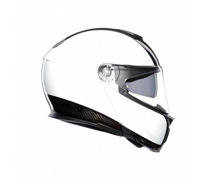 AGV Sportmodular Carbon Weiß Helm - kostenlose Rücksendung