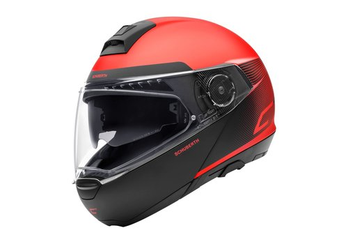 Schuberth C4 Resonance Red Helm