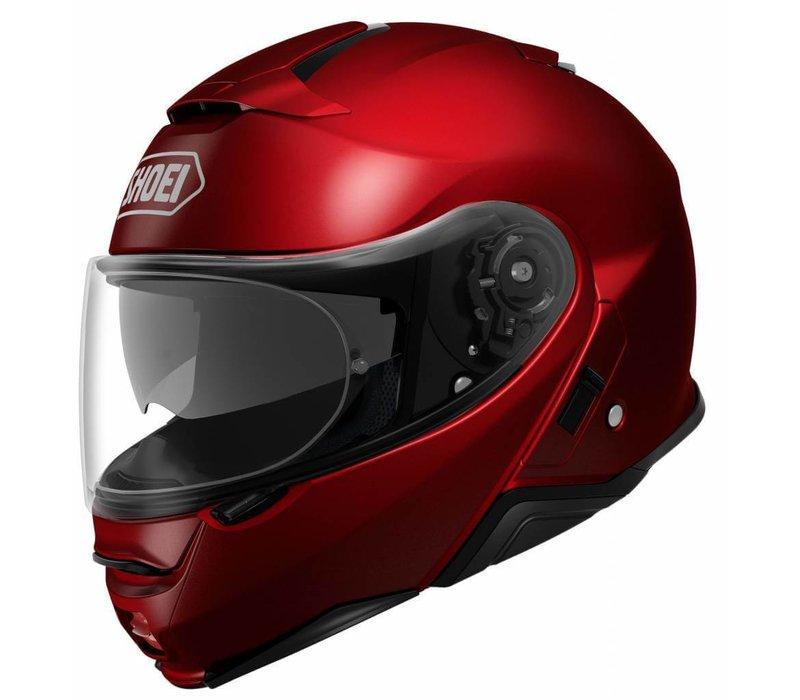 casque shoei neotec 2 rouge retour gratuit champion helmets. Black Bedroom Furniture Sets. Home Design Ideas