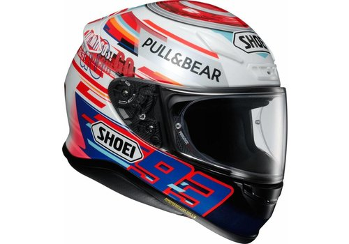 SHOEI NXR Marquez Power up! TC-1 Helm