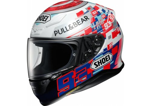 Shoei Shoei NXR Marquez Power up! TC-1 Helm